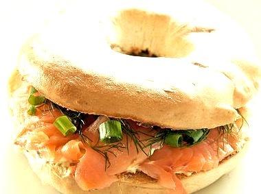 Bagel, Salmon