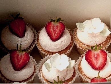 Cupcake, Strawberry