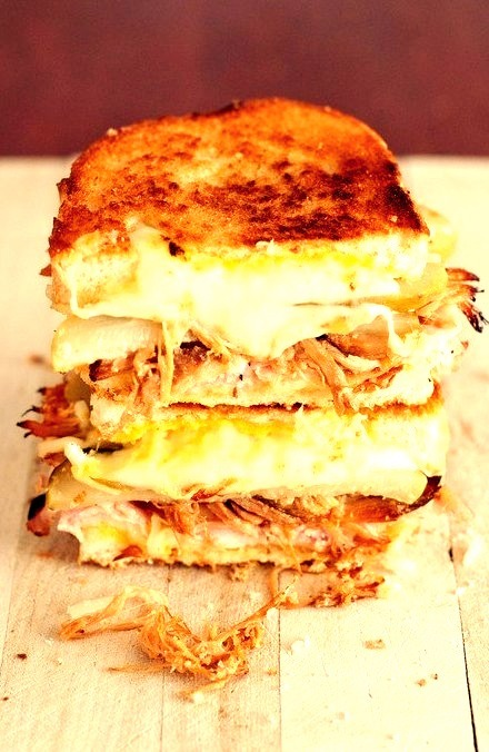 Ham and Cheese Melt