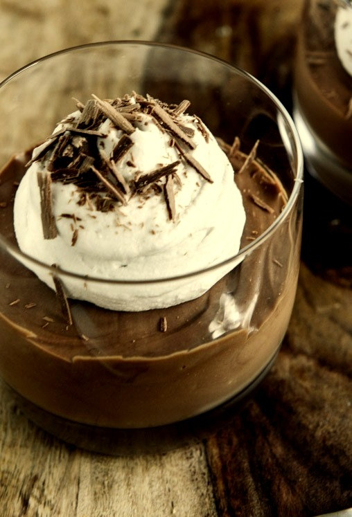 Recipe: Milk Chocolate Mousse with Coconut Whipped Cream