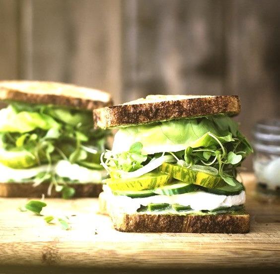 Green Goddess Sandwiches The Bojon Gourmet