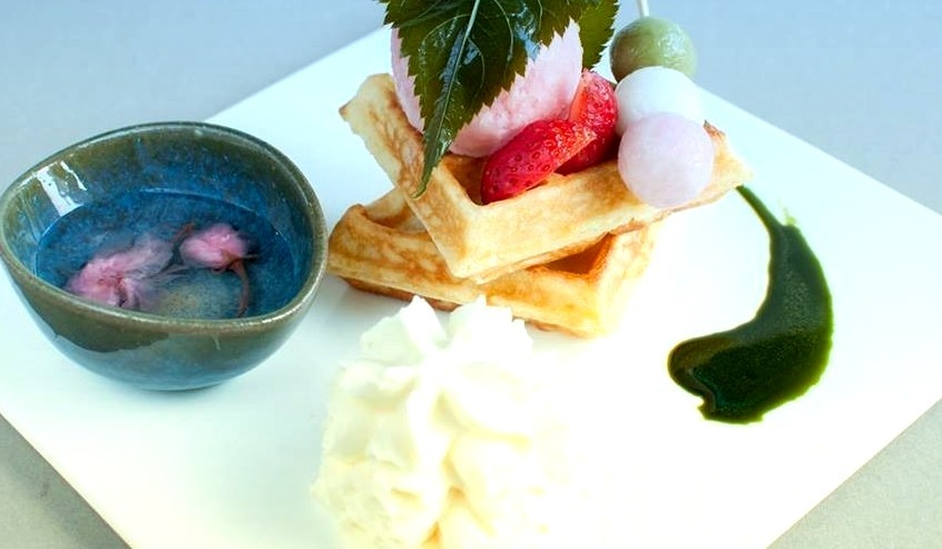 Sakura Yokoso @ MOF Japanese Dessert Cafe