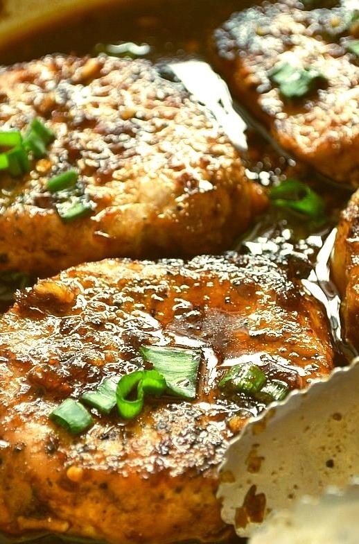 Glazed Pork Chops Yum Expert