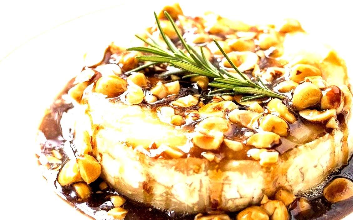 Honey Hazelnut Baked Brie